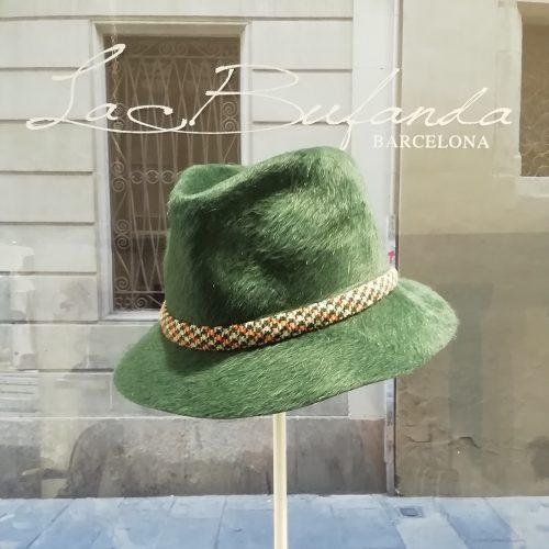 Grevi-darkgreen-lapin-borsalino-fedora
