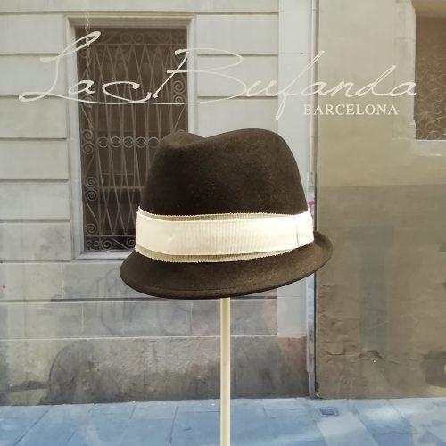 Ferrucciovecchi-hat-fedora-lapin-felt-black