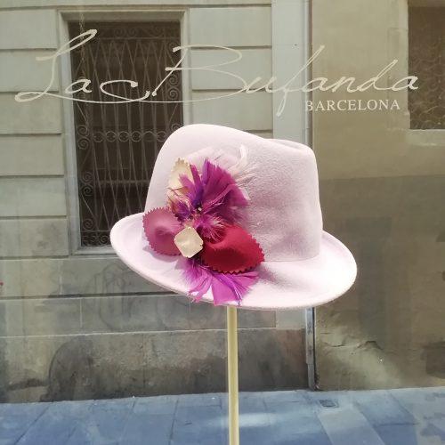 FerruccioVecchi-hat-fedora-lapin-pink