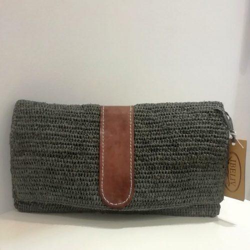 Ibeliv-raphia-handbag-grey-green